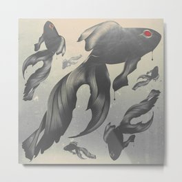 Devilfish Metal Print