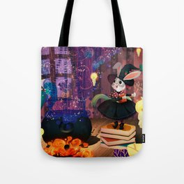 Ms. Bunny the witch Tote Bag