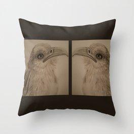 The Secretary Bird Double Up Throw Pillow