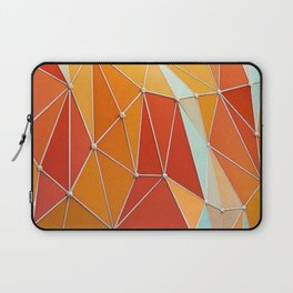 Geometric Triangles Laptop Sleeve