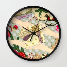 Merry Christmas gift Wall Clock