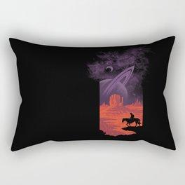 Final Frontiersman II Rectangular Pillow