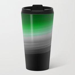 Green Gray Ombre Travel Mug