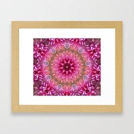 Shimmerflower Framed Art Print
