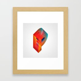 The Letter P Framed Art Print