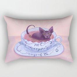 Not Everone's Cup Of Tea - Sphynx Cat - Part 2 Rectangular Pillow
