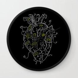 Gaming Control Tools | Heart Wall Clock