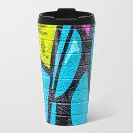 Shapes and green slime Travel Mug
