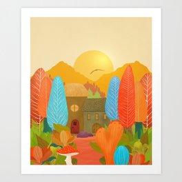 Mystery Garden VII Art Print