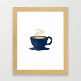 Cup of Happy Framed Art Print