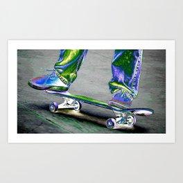 Skater Boy Art Print
