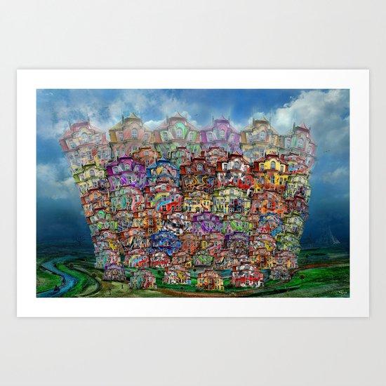 Big City 2013 Art Print