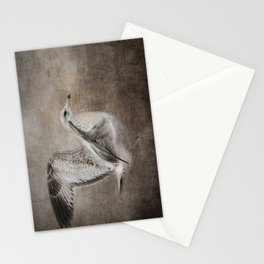 Dance of the Lone Gull Stationery Cards