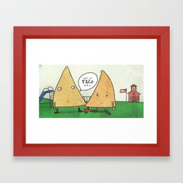 TACO bout it Framed Art Print