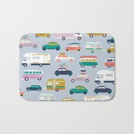 Summer road trip Bath Mat