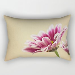 Flowers are the music of the ground Rectangular Pillow