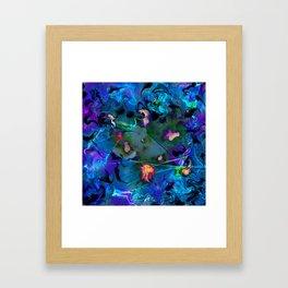 Congested Interloper Framed Art Print