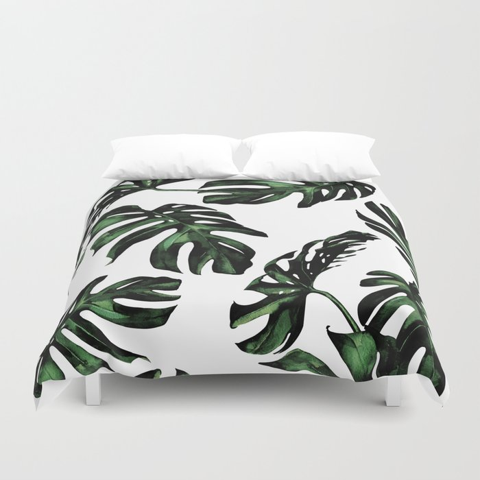 Tropical Green Palm Leaves Duvet Cover By Naturemagick Society6 Choose from over a million free vectors, clipart graphics, vector art images, design templates, and illustrations created by artists worldwide! tropical green palm leaves duvet cover by naturemagick