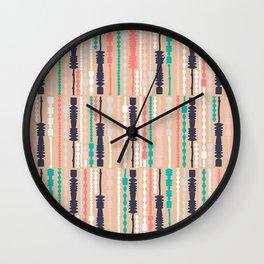 MCM Lamplighter Wall Clock