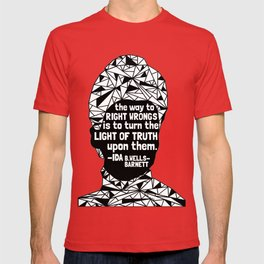 Ida B. Wells-Barnett - Black Lives Matter - Series - Black Voices T-shirt