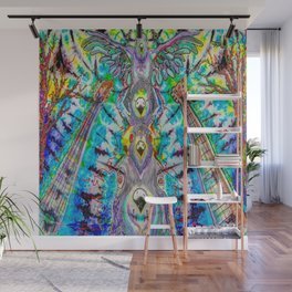 The pigeon totem Wall Mural