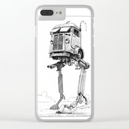 AT-CT Walker Type C Clear iPhone Case