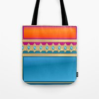 decorative Tote Bags featuring Decorative by elledeegee