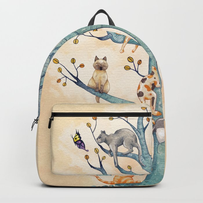 The tree of cat life Rucksack