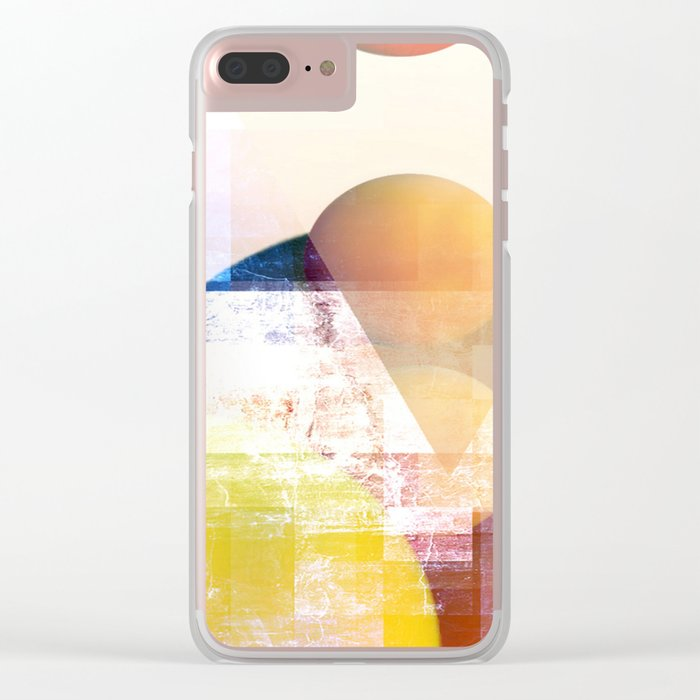 Peaches on Spitzbergen Clear iPhone Case