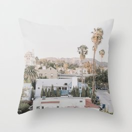 Hollywood California Throw Pillow