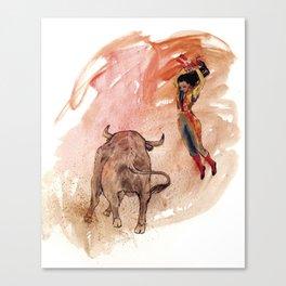 Bullfighter Canvas Print