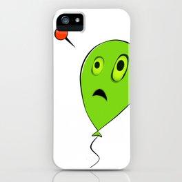 Threatened Balloon iPhone Case