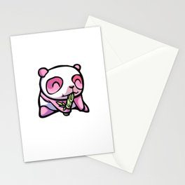 Pink Gorilla X Enfu Panda Stationery Cards