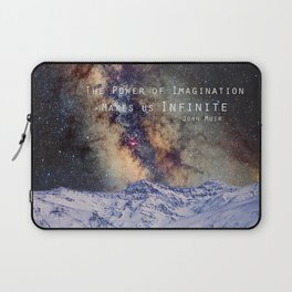 """The Power of Imagination Makes us Infinite"" Laptop Sleeve"