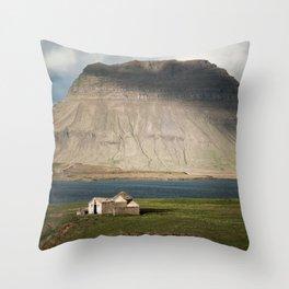 Kirkjufell #1 Throw Pillow