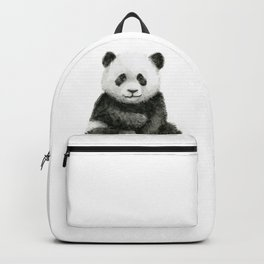 Baby Panda Watercolor Backpack