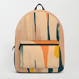 Wall Of Floral Abstracts Backpack