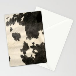 Black & White Cow Hide Stationery Cards