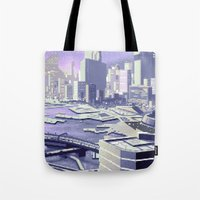 future Tote Bags featuring Future by noirlac