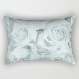 Roses collage Rectangular Pillow