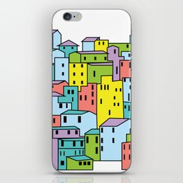 Two Dimensional City iPhone Skin