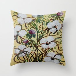 King Cotton Throw Pillow