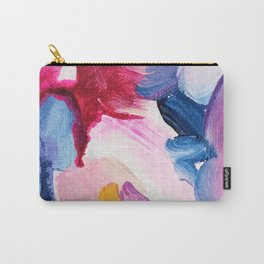 Lottie Abstract Painting Carry-All Pouch