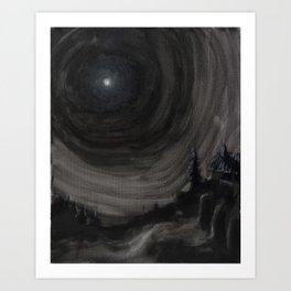 Midnight 01 Art Print