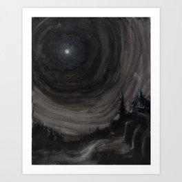 Midnight 01 Art Print