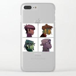 Gorilla Demon Days Clear iPhone Case