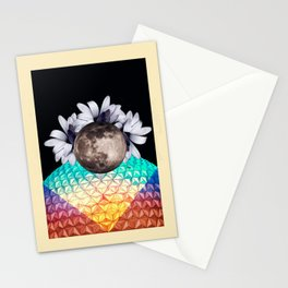 Beyond the moon and back Stationery Cards