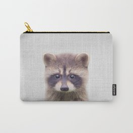Raccoon - Colorful Carry-All Pouch