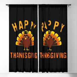 Happy Thanksgiving Blackout Curtain
