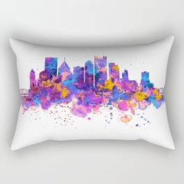 Pittsburgh Skyline Rectangular Pillow